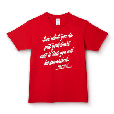 Made by KIEHL'S Love what you do Tシャツ
