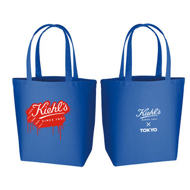 Made by KIEHL'S Kiehl's painting logo トートバッグ