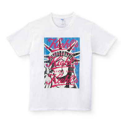 Made by KIEHL'S Lady Liberty Tシャツ