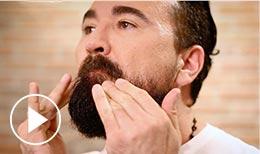 Beard Oil Application